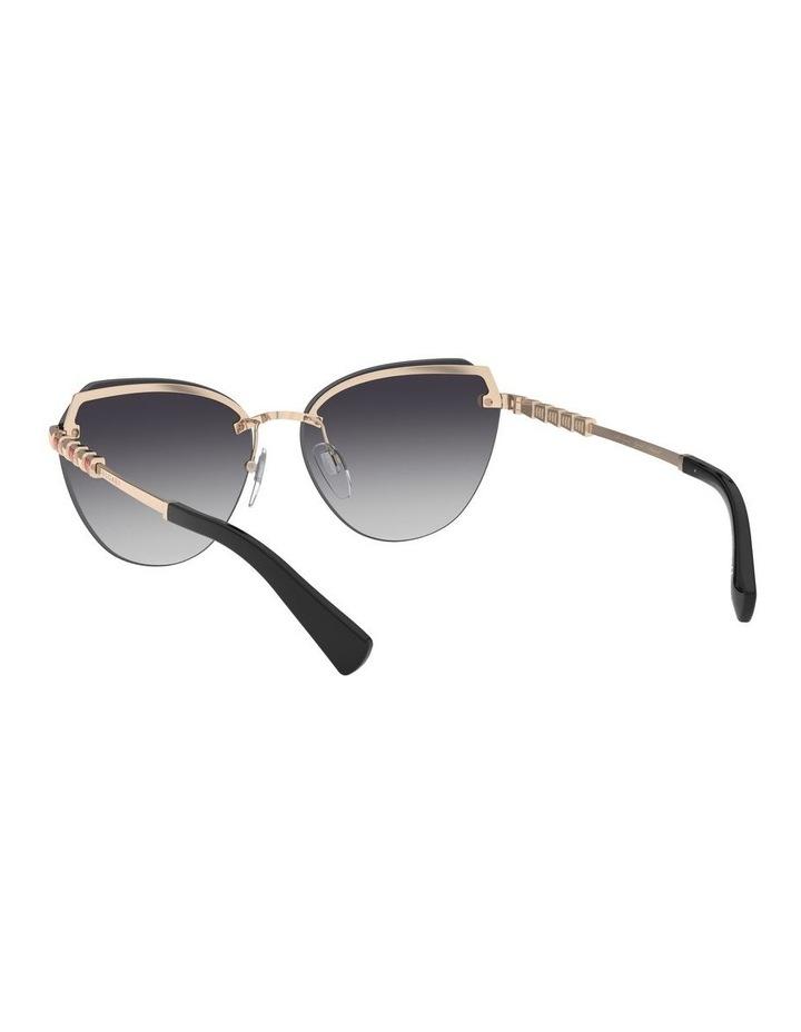 Grey Cat Eye Sunglasses 0BV6129KB 1527997003 image 6