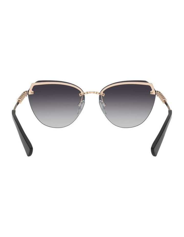 Grey Cat Eye Sunglasses 0BV6129KB 1527997003 image 7