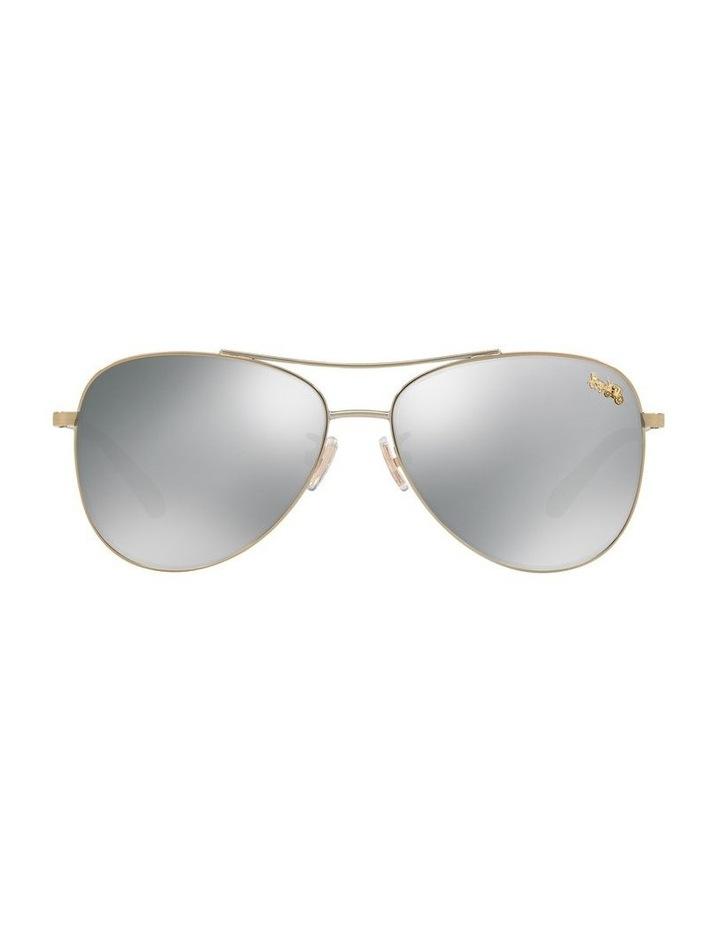 Grey Aviator Sunglasses 0HC7079 1516792001 P image 2
