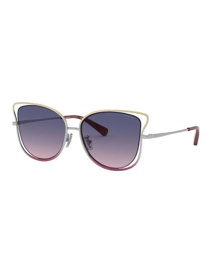 Blue Cat Eye Sunglasses 0HC7106 1525816004 image 1