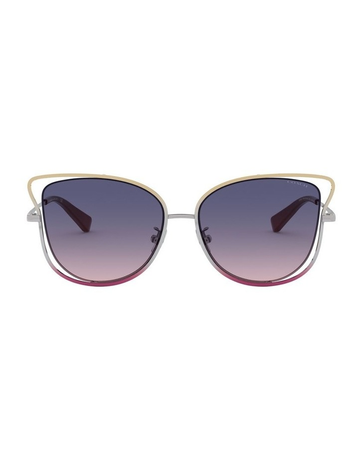 Blue Cat Eye Sunglasses 0HC7106 1525816004 image 2