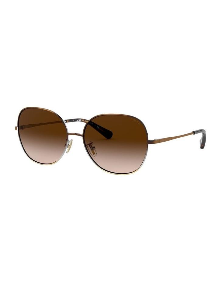 Brown Round Sunglasses 0HC7108 1525817001 image 1