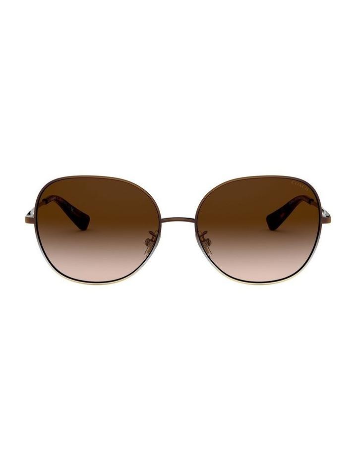 Brown Round Sunglasses 0HC7108 1525817001 image 2