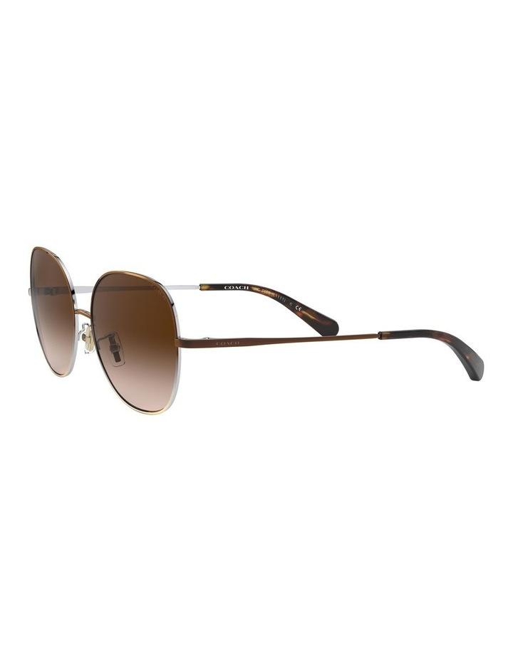 Brown Round Sunglasses 0HC7108 1525817001 image 3