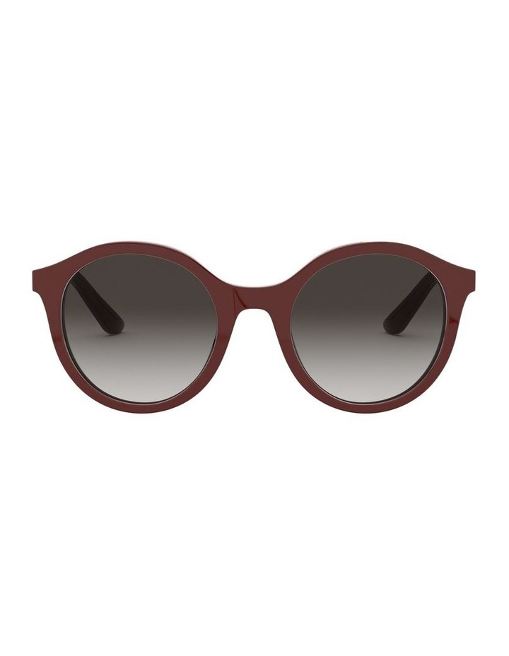 Grey Round Sunglasses 0DG4358 1524014001 image 2