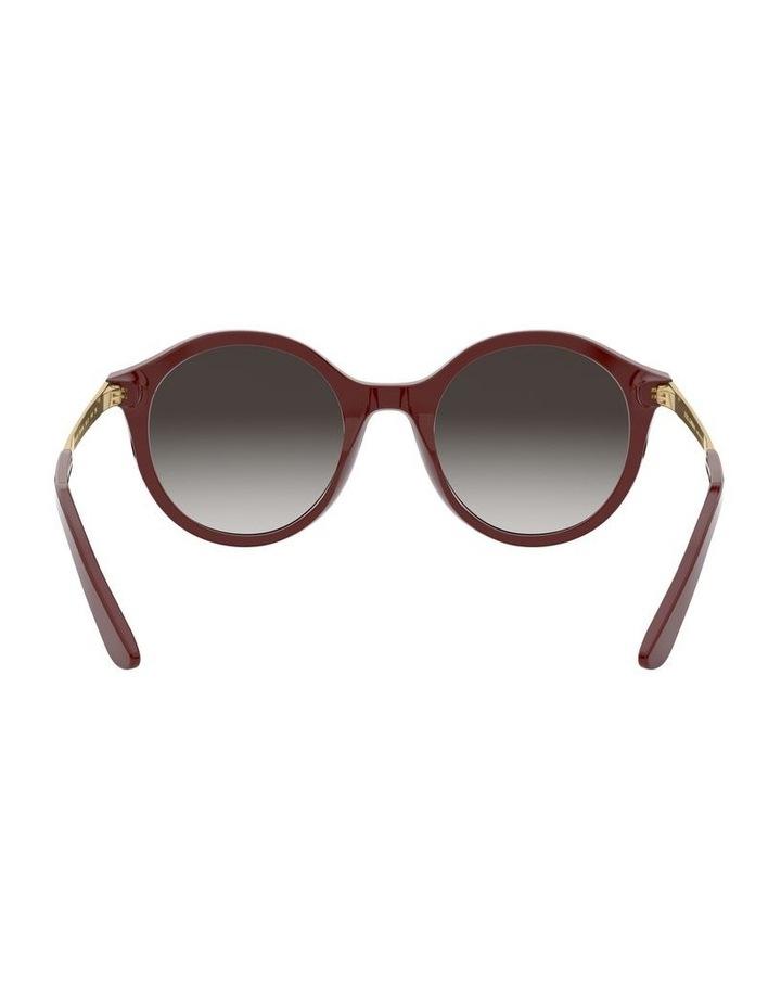Grey Round Sunglasses 0DG4358 1524014001 image 7