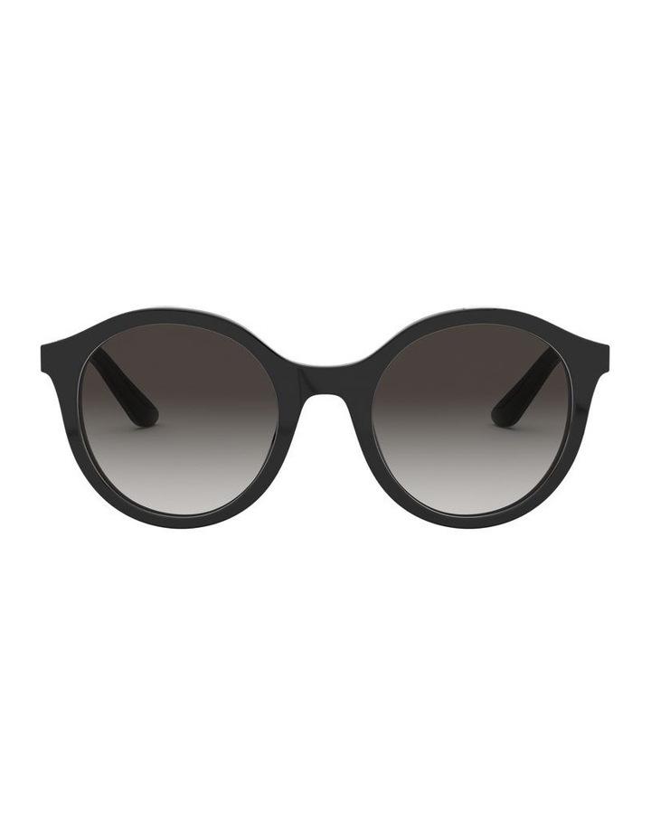 Grey Round Sunglasses 0DG4358 1524014002 image 2