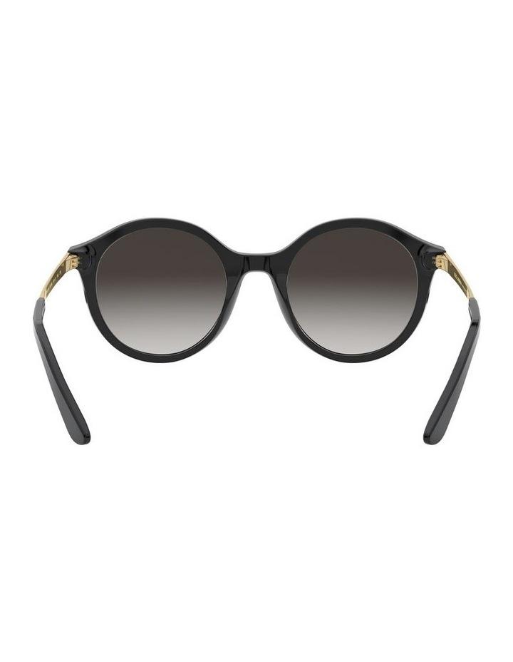 Grey Round Sunglasses 0DG4358 1524014002 image 7