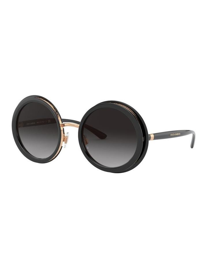 Grey Round Sunglasses 0DG6127 1527854001 image 1