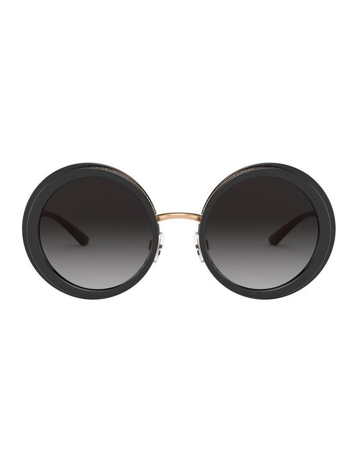 Grey Round Sunglasses 0DG6127 1527854001 image 2