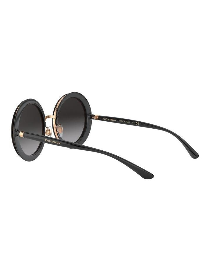 Grey Round Sunglasses 0DG6127 1527854001 image 5