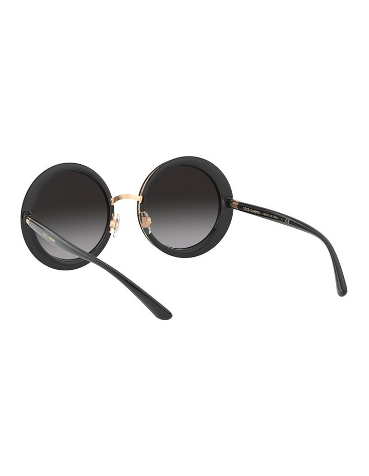 Grey Round Sunglasses 0DG6127 1527854001 image 6