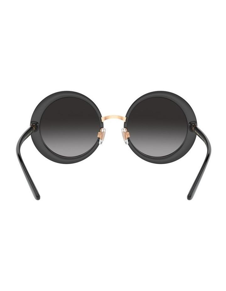 Grey Round Sunglasses 0DG6127 1527854001 image 7