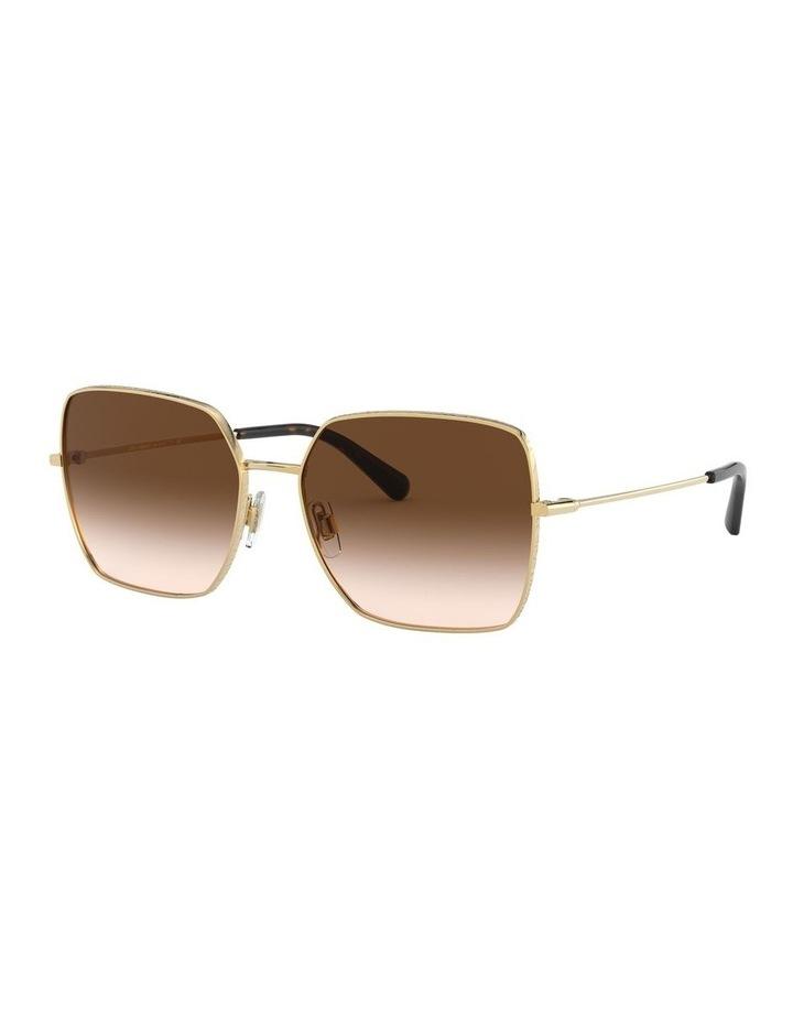Brown Square Sunglasses 0DG2242 1527855001 image 1