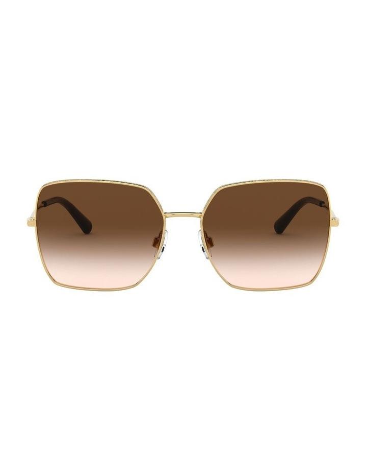 Brown Square Sunglasses 0DG2242 1527855001 image 2