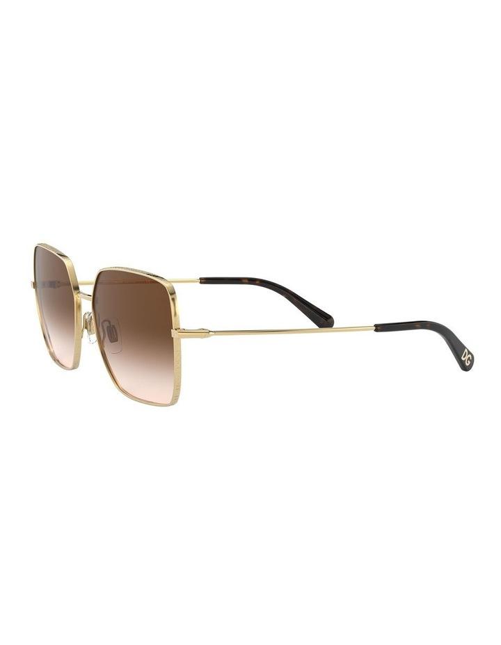 Brown Square Sunglasses 0DG2242 1527855001 image 3