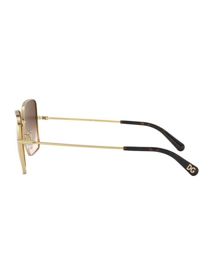 Brown Square Sunglasses 0DG2242 1527855001 image 4