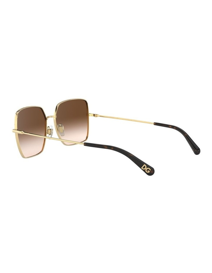 Brown Square Sunglasses 0DG2242 1527855001 image 5