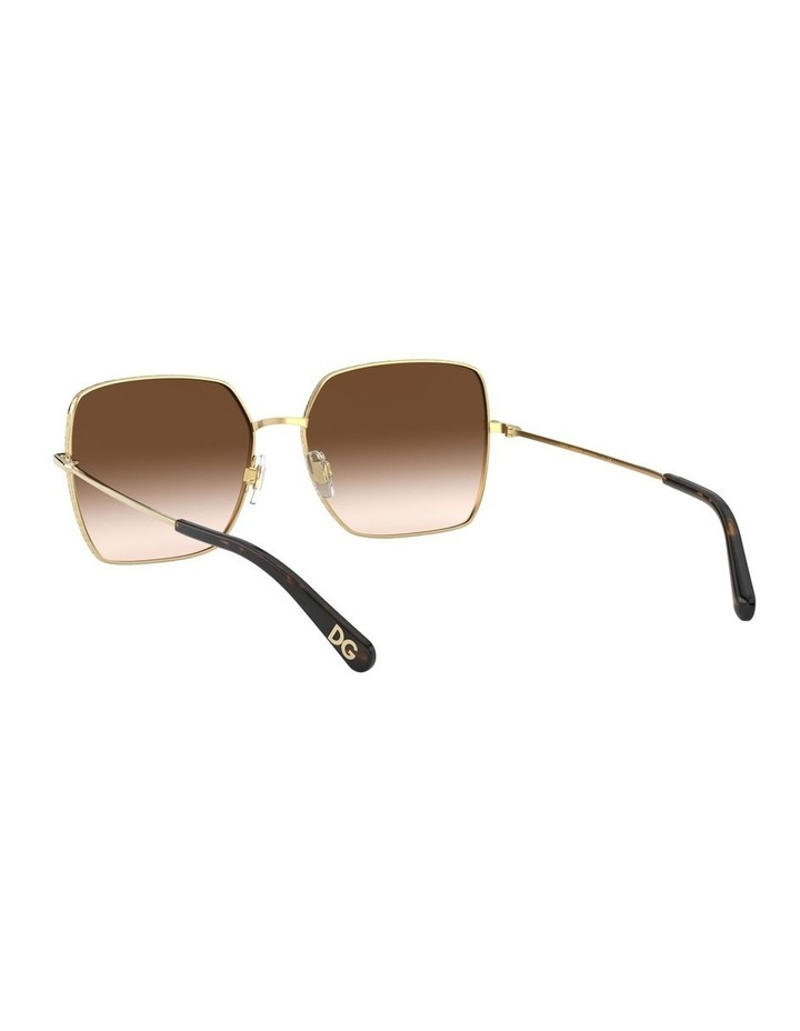 Brown Square Sunglasses 0DG2242 1527855001 image 6