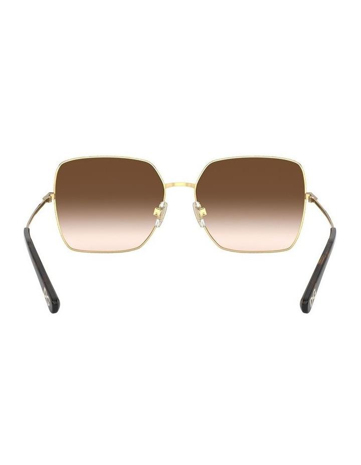 Brown Square Sunglasses 0DG2242 1527855001 image 7