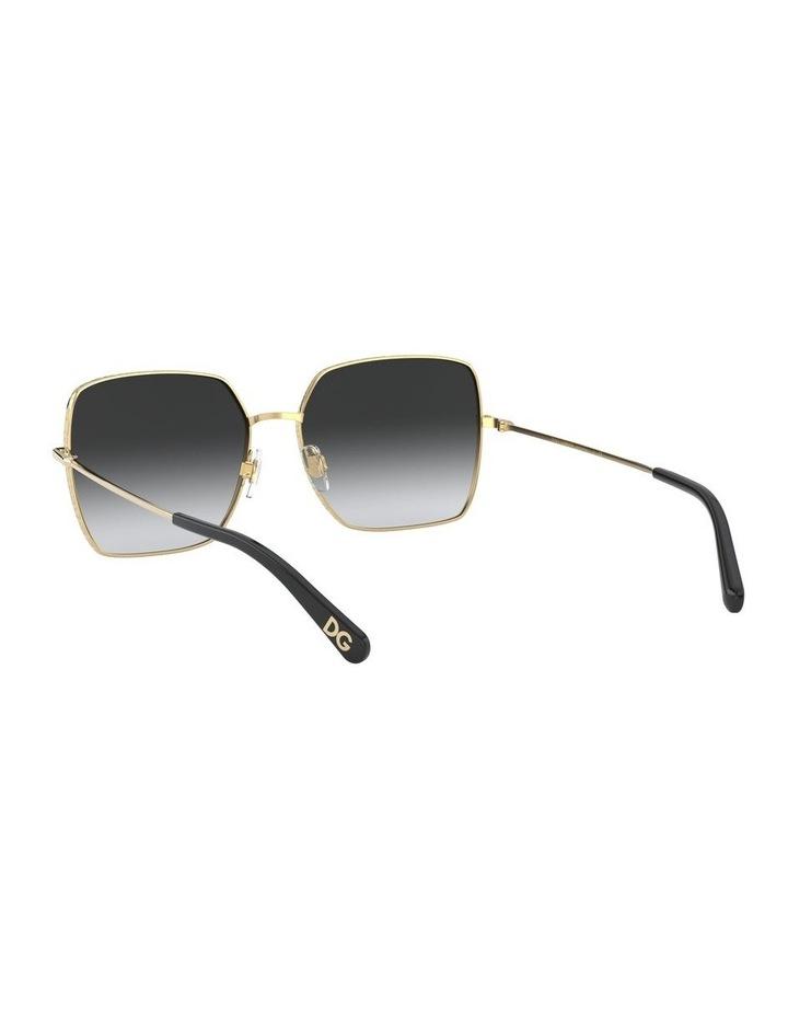 Grey Square Sunglasses 0DG2242 1527855003 image 6