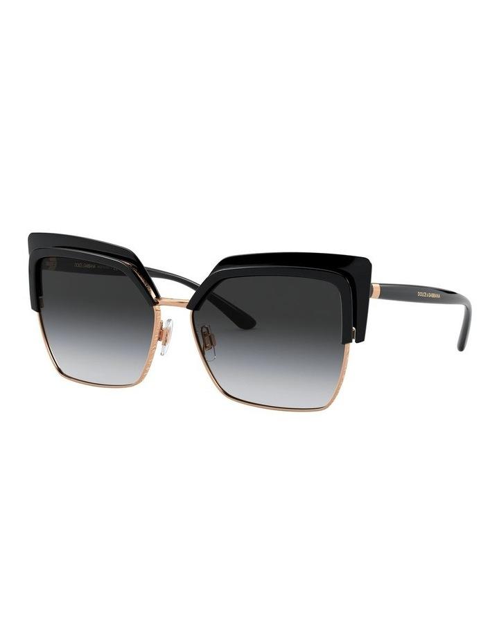 Grey Cat Eye Sunglasses 0DG6126 1528429001 image 1