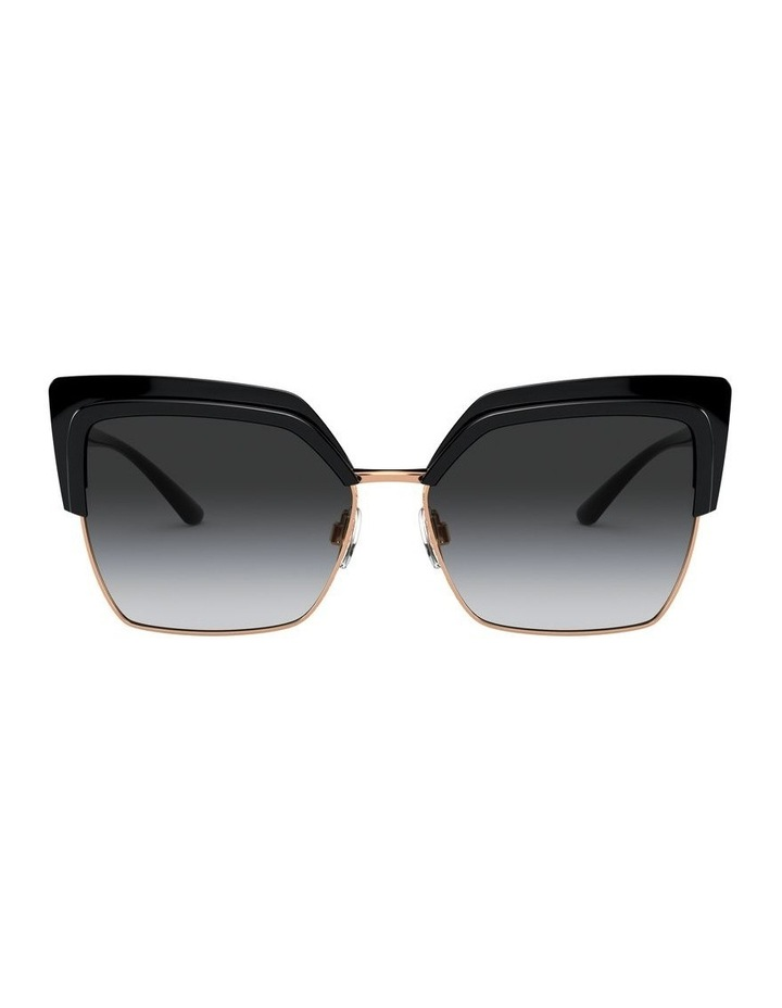 Grey Cat Eye Sunglasses 0DG6126 1528429001 image 2