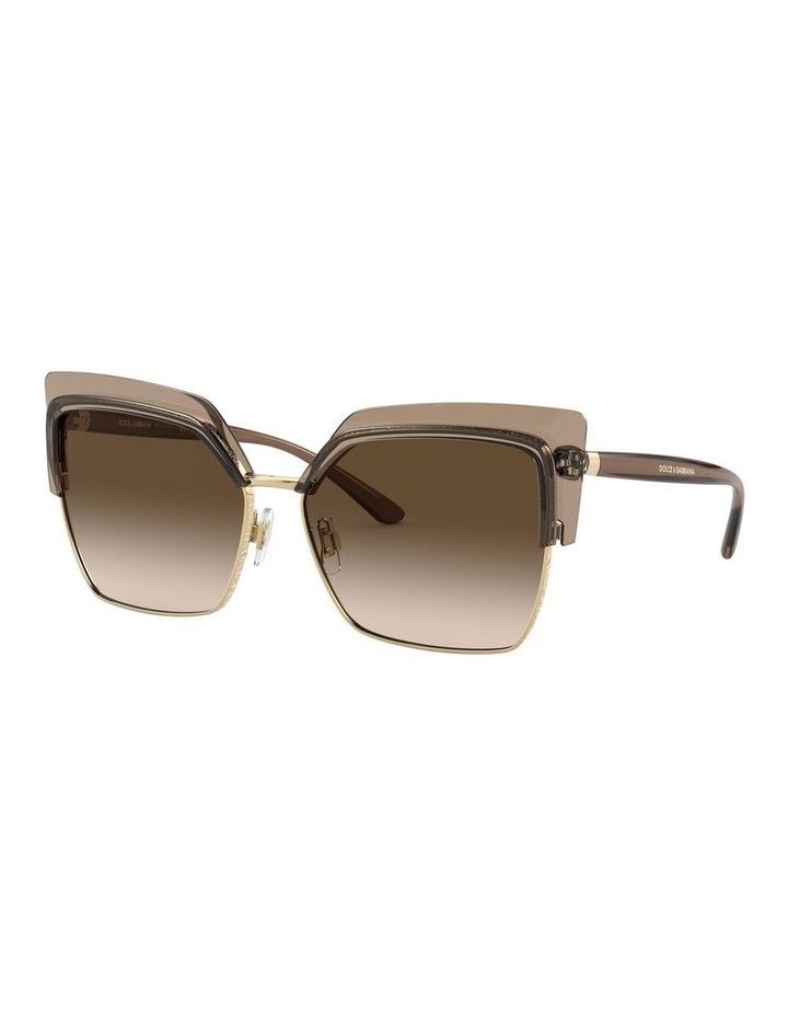 Brown Cat Eye Sunglasses 0DG6126 1528429002 image 1