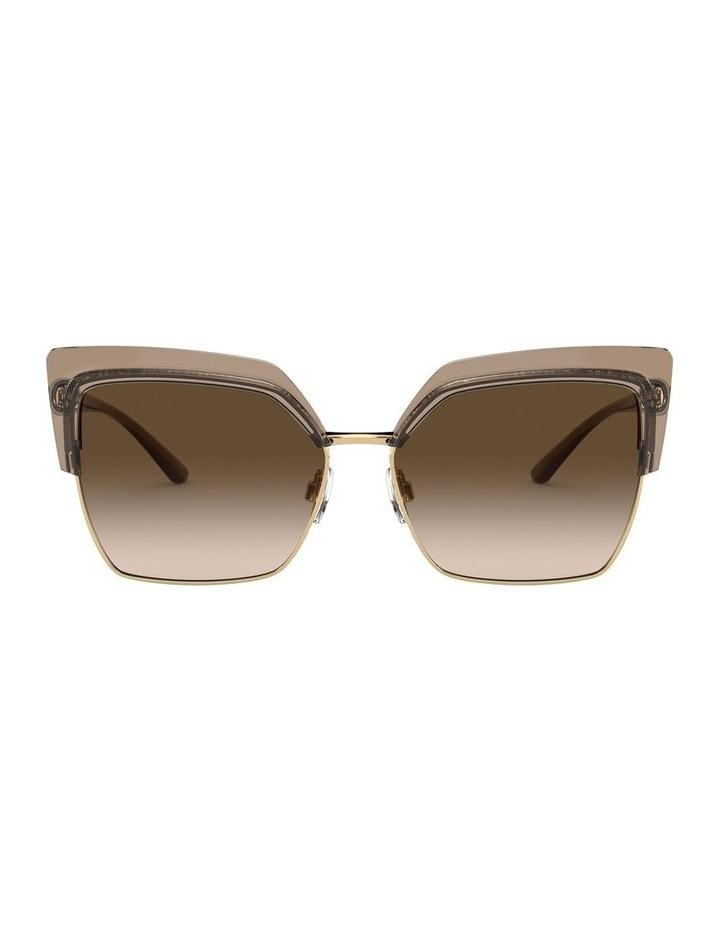 Brown Cat Eye Sunglasses 0DG6126 1528429002 image 2
