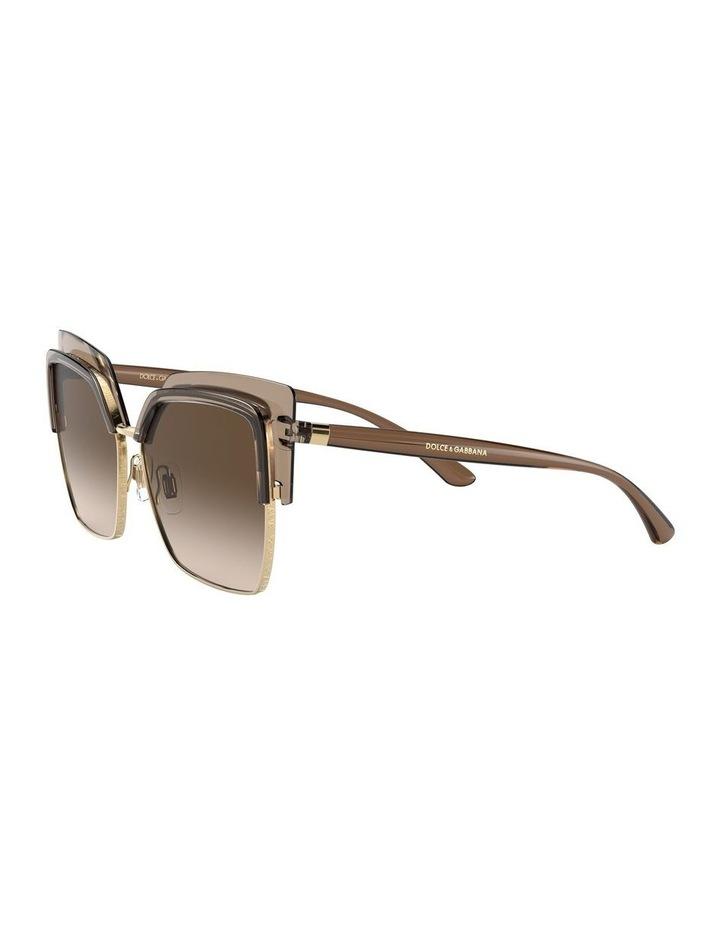 Brown Cat Eye Sunglasses 0DG6126 1528429002 image 3