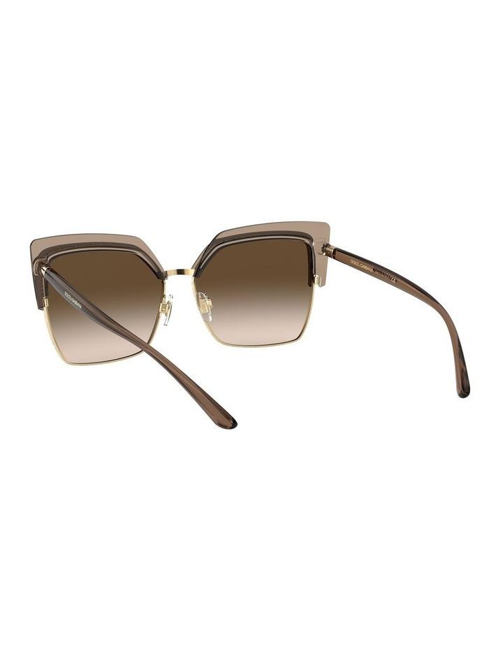 Brown Cat Eye Sunglasses 0DG6126 1528429002 image 6