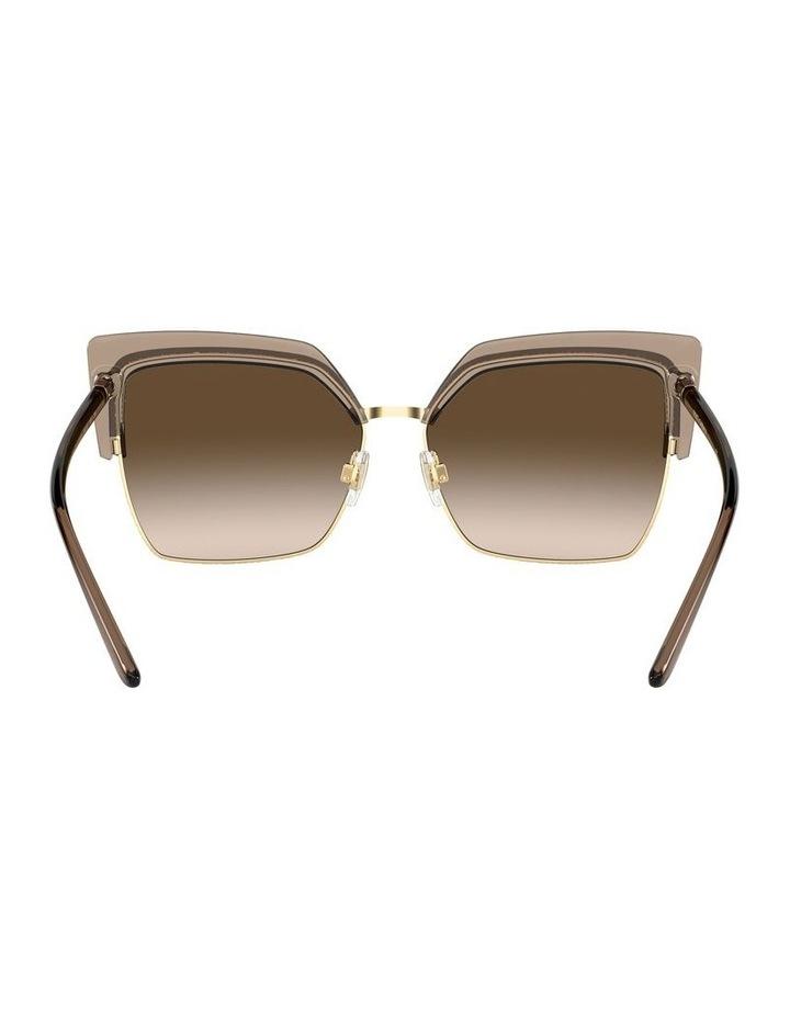Brown Cat Eye Sunglasses 0DG6126 1528429002 image 7