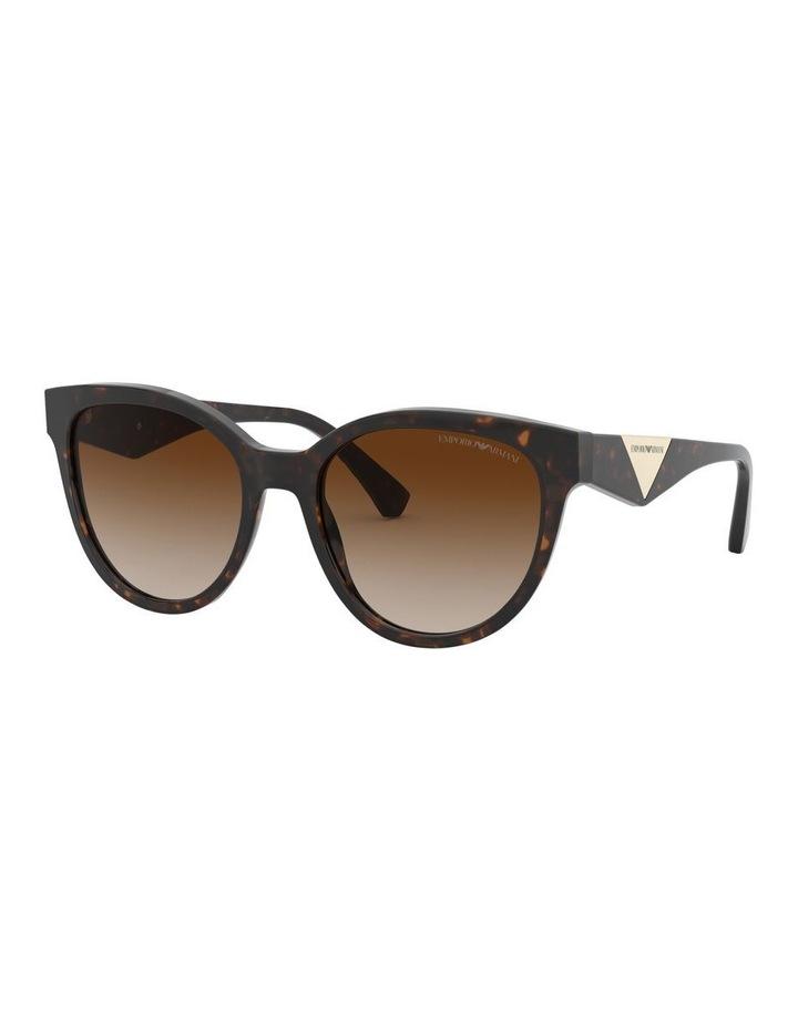 Brown Cat Eye Sunglasses 0EA4140 1528351002 image 1