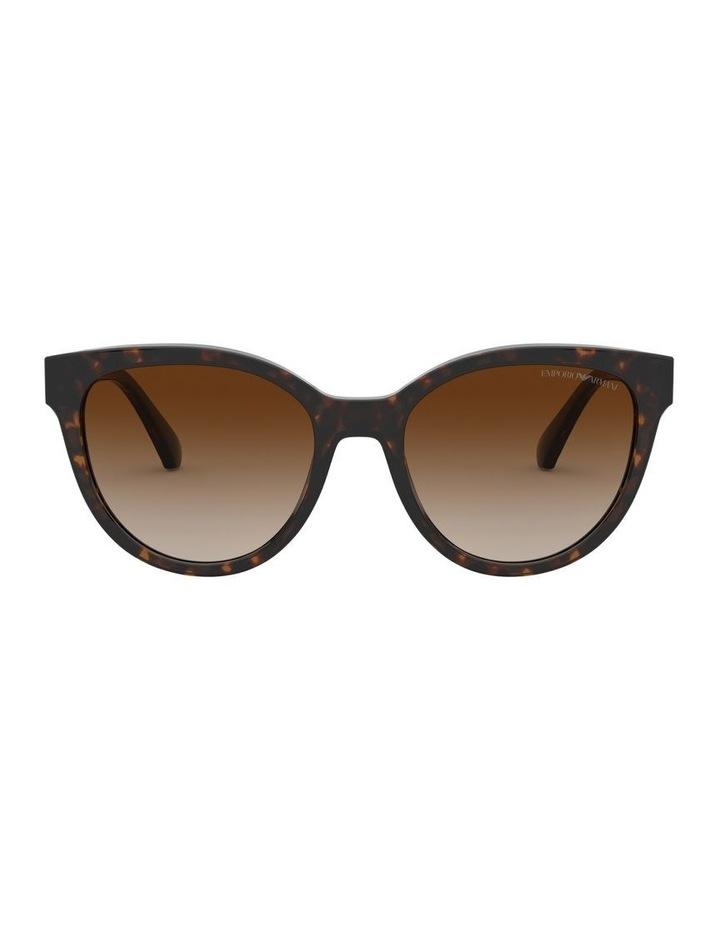 Brown Cat Eye Sunglasses 0EA4140 1528351002 image 2
