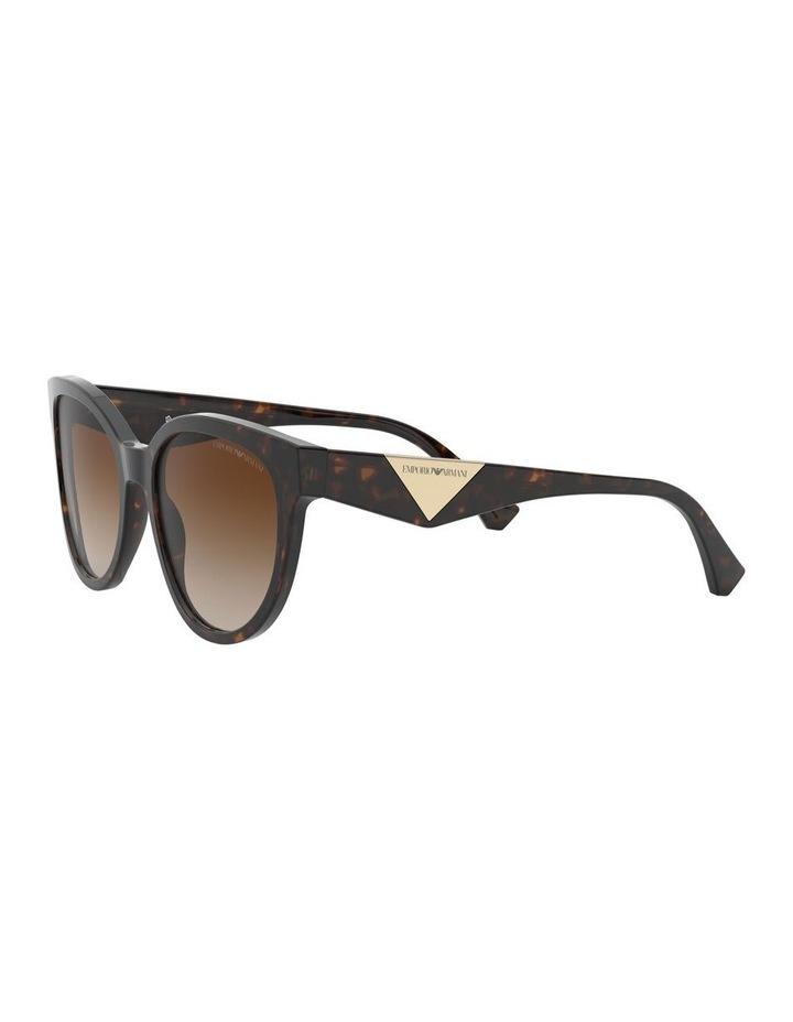 Brown Cat Eye Sunglasses 0EA4140 1528351002 image 3