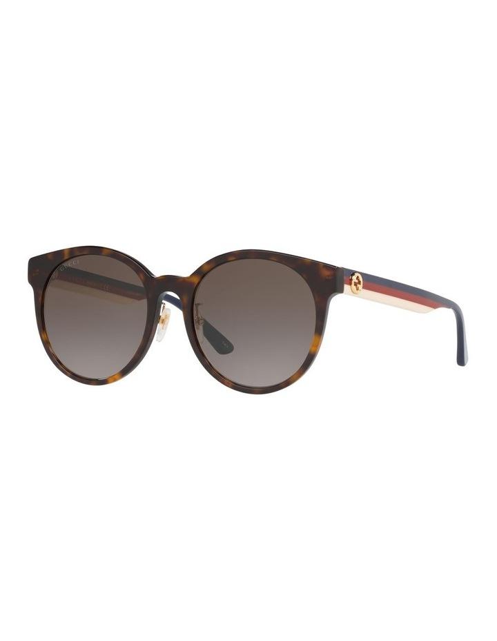 Brown Rounf Sunglasses 0GC001184 1522744002 image 1