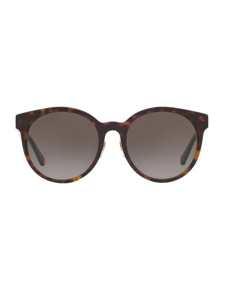 Brown Rounf Sunglasses 0GC001184 1522744002 image 2