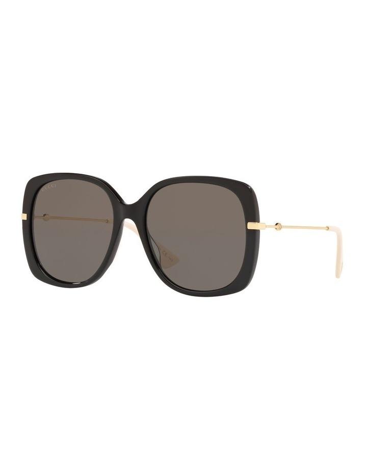 Grey Square Sunglasses 0GC001231 1526130001 image 1
