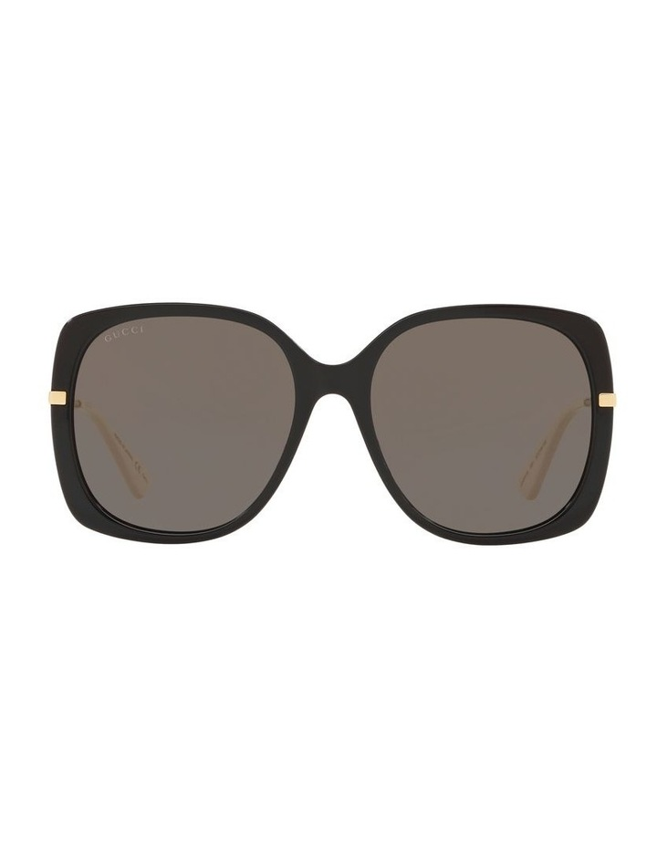 Grey Square Sunglasses 0GC001231 1526130001 image 2