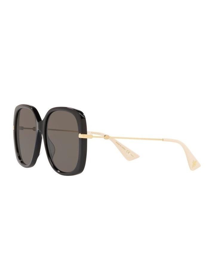 Grey Square Sunglasses 0GC001231 1526130001 image 3