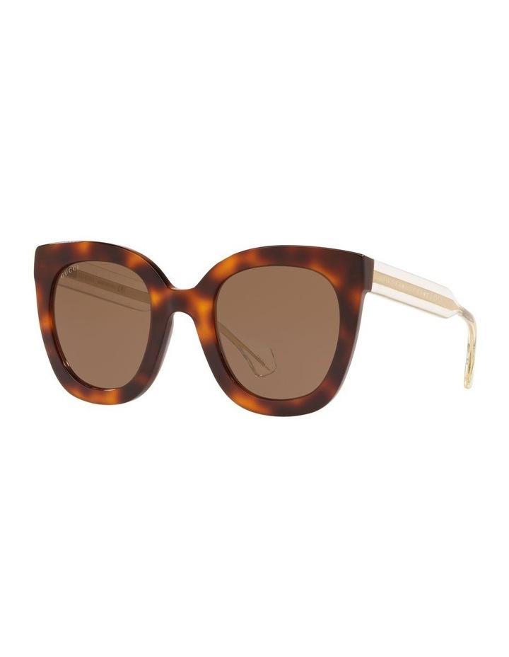 Brown Cat Eye Sunglasses 0GC001334 1528773002 image 1