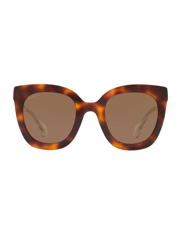 Brown Cat Eye Sunglasses 0GC001334 1528773002 image 2