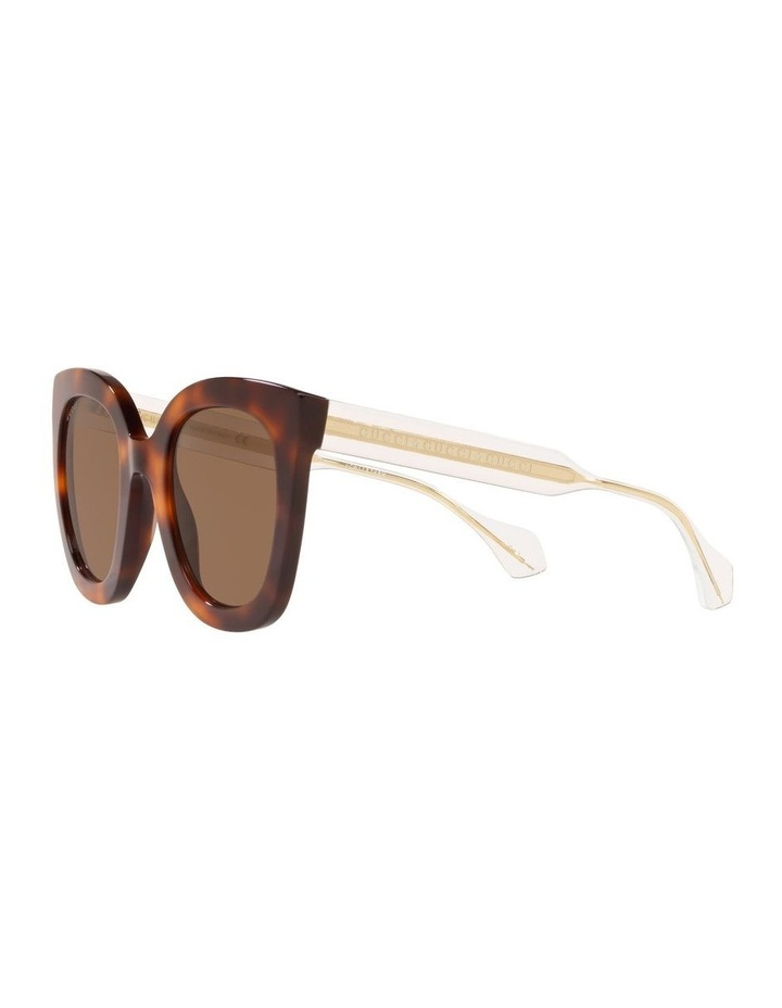Brown Cat Eye Sunglasses 0GC001334 1528773002 image 3