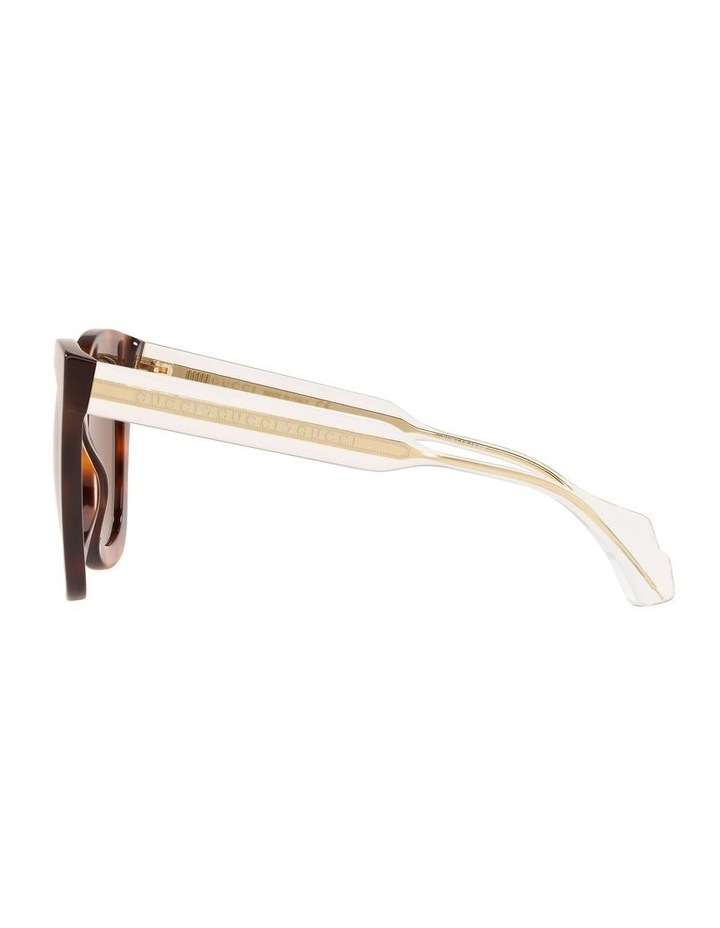 Brown Cat Eye Sunglasses 0GC001334 1528773002 image 4