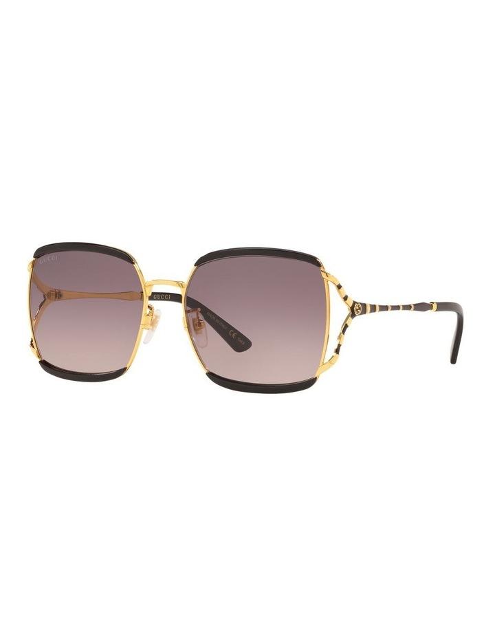 Grey Square Sunglasses 0GC001339 1528776001 image 1