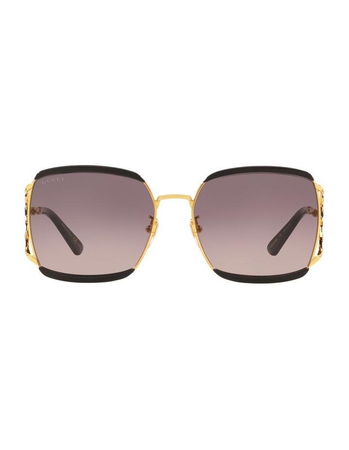 Grey Square Sunglasses 0GC001339 1528776001 image 2