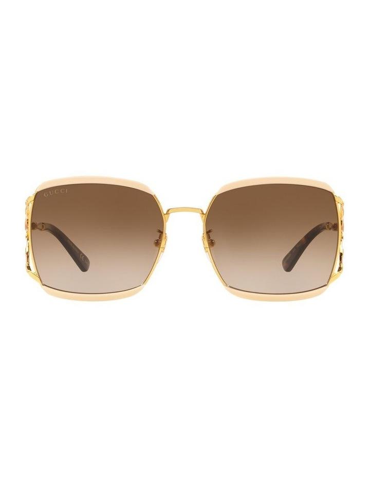 Brown Square Sunglasses 0GC001339 1528776002 image 2