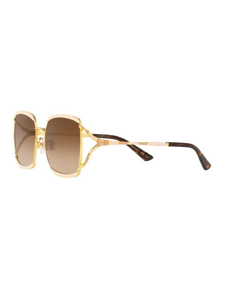Brown Square Sunglasses 0GC001339 1528776002 image 3