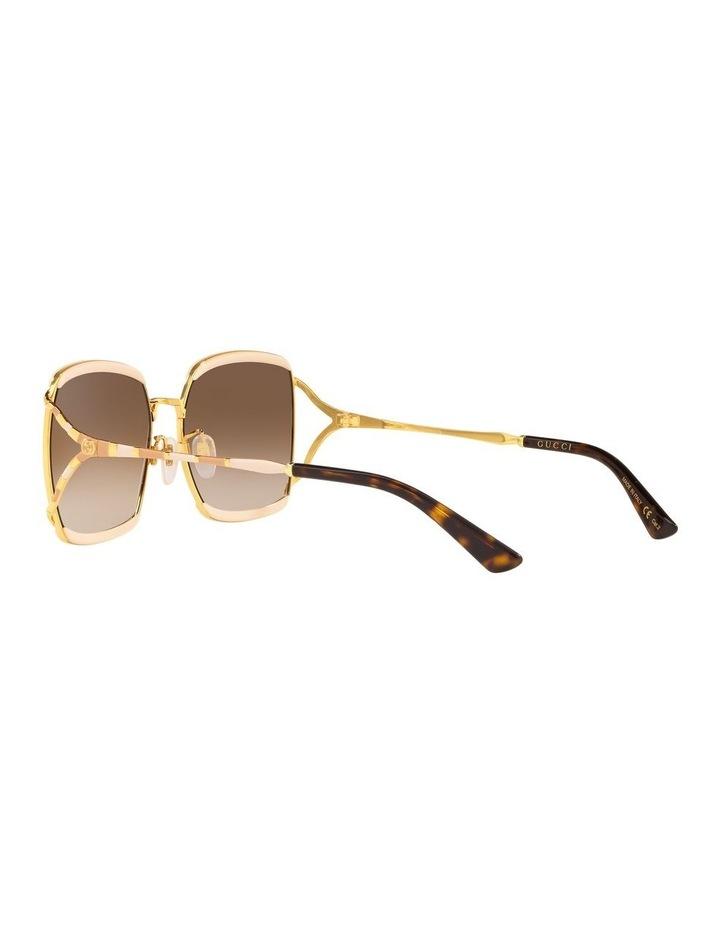 Brown Square Sunglasses 0GC001339 1528776002 image 5
