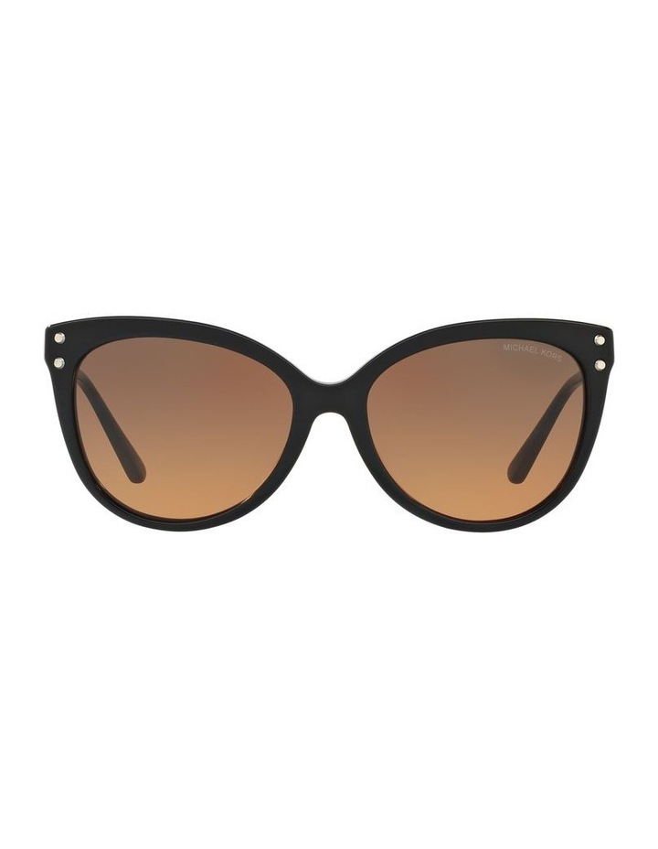 Grey Round Sunglasses 0MK2045 1515416001 image 2